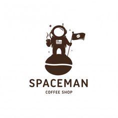 Cafe Logo, Bakery Logo, Coffee Shop Logo, Coffee Shop Design, Coffee Branding, Logo Templates, Design Templates, Drinks Logo, Logo Design Inspiration
