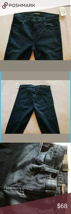 """NWT J Brand Jeans Never worn. All tags attached. Perfect condition. They were just not my size 🙈   """"Darkness"""" - pretty dark blue color   Skinny mid rise jeans, regular length, with full pockets. From a smoke-free home.   Bundle and save 15%! Look out for free gifts in my closet 💖 J Brand Jeans Skinny"""