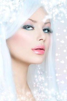 RUMA♥ZIHOZAYO #GIFS Белоснежная красавица