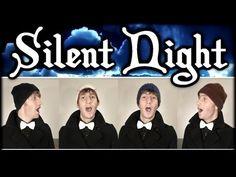 Silent Night (Christmas Barbershop Quartet) - Julien Neel - YouTube