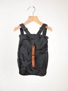 Bobo Grey Stars Schoolbag