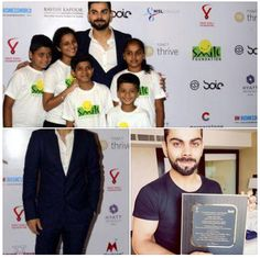 Virat Kohli Foundation joins hands with Smile Foundation to support the cause of empowerment of underprivileged Children and Youth.