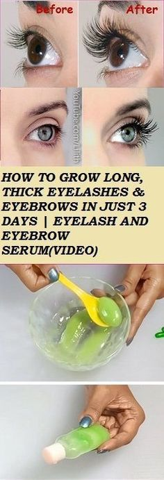#Health #Look # HOW TO GROW LONG THICK EYELASHES & EYEBROWS IN JUST 3 DAYS | EYELASH AND https://t.co/eWdk8VRBK5 https://t.co/s2hc1sQRHS https://t.co/eWdk8VRBK5