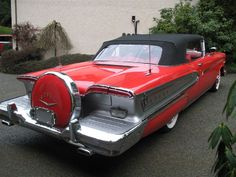 1958 Edsel. this is NOT a car I wish I'd driven-but, still...it's pretty interesting