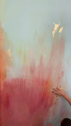 Mural Wall Art, Diy Wall Art, Painted Wall Murals, Gold Wall Art, Bathroom Wall Art, Diy Canvas Art, Childrens Bathroom, Printable Wall Art, Home Art