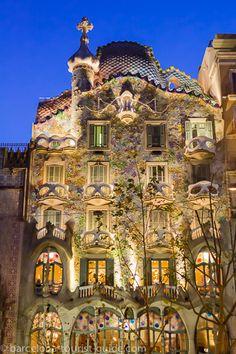 Casa Batlló de Gaudí - Galería de Fotos de Barcelona
