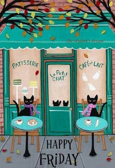 Cafe en Paris