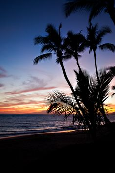 Sunset Silhouette » Heath OFee Photography Sunset Silhouette, Celestial, Sunsets, Silhouettes, Beach, Water, Photography, Outdoor, Diy