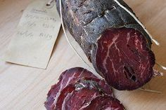 How to make Bresaola spiced, air-dried beef it's one of the simplest bits of charcuterie to do at home and makes a great first project Charcuterie Recipes, Charcuterie Cheese, Sausage Recipes, Meat Recipes, Cooking Recipes, Home Made Sausage, Sausage Making, How To Make Sausage, Cuisines Diy