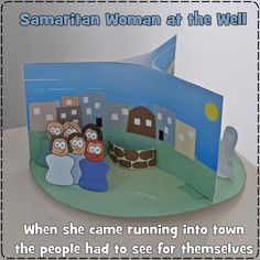 Craft to teach the lesson about the woman at the well