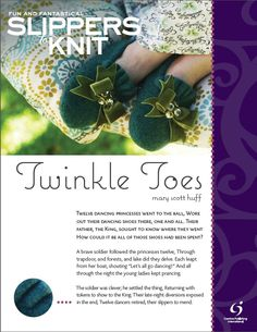 Fun, Free and Felted! Twinkle Toes Slipper Pattern