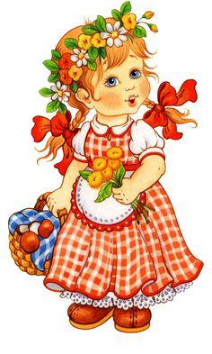les meli melo de mamietitine - Page 27 Holly Hobbie, Cute Images, Cute Pictures, Teddy Images, Art Mignon, Sarah Kay, Digi Stamps, Cute Dolls, Fabric Painting
