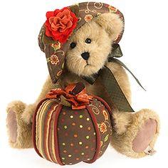 Hattie B. PatchBeary Plush-love fall bears.