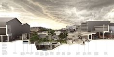 Haiti Simbi Hubs by Aditya Aachi. Diploma Unit 7, The Architectural Association.