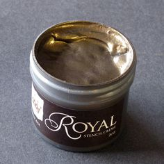 Stencil Paint | Stencil Creme Bronze Age | Royal Design Studio
