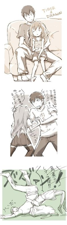 Relationship goals <3  Toradora! - Image Thread (wallpapers, fan art, gifs, etc.) - Page 31 - AnimeSuki Forum