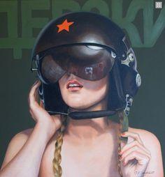 Kathrin Longhurst Djerski Oil on Canvas