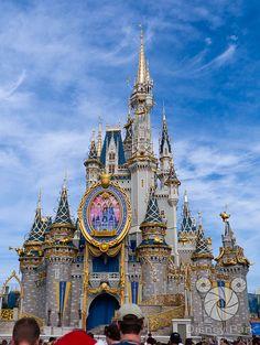 Disney Park - Cinderella Castle