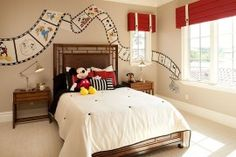 25 Disney-Inspired Rooms That Celebrate Color And Creativity | Interior Design inspirations and articles