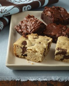 Top-8-Allergen-Free Chocolate Chunk Blondies (Cybele Pascal; Gluten Free, Soy Free, Dairy Free, Egg Free, Vegan)