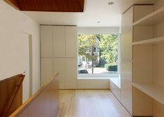 Small House - Jim Vlock Building Project - Yale School of Architecture - New Haven - Storage - Humble Homes. Yale Architecture, Architecture Portfolio, Drawing Architecture, Neutral Kitchen Designs, Inside A House, Villa, Residential Architect, Architectural Section, Affordable Housing