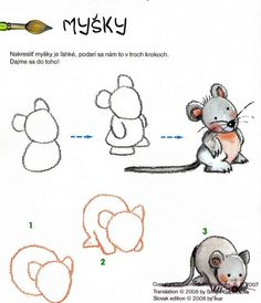 How to draw animals Drawing Lessons, Drawing Techniques, Art Lessons, Doodle Drawings, Easy Drawings, Animal Drawings, Drawing Sketches, Drawing For Kids, Art For Kids