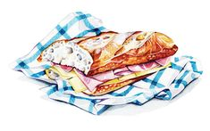 Watercolour Illustrations - Holly Exley Illustrator: Watercolour Food…