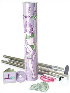 Learn how to be a pole dancer for kids  - REALLY!? comes with play $ and eveything!