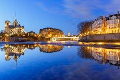 Wet Mirror on Notre Dame de Paris by Loïc Lagarde on 500px