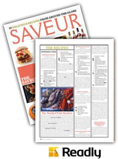Suggestion about Saveur Jan / Feb 2014 page 82
