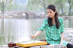 Chen Ying - Professional Go player with the Chinese Go Association