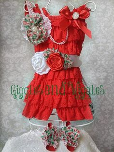 4 Piece Lace romper set - romper, headband, sash, and barefoot sandals.  lace romper, baby lace romper, birthday outfit, newborn lace romper, Christmas lace romper, Baby First Christmas, Baby First Christmas Outfit, Christmas outfit, newborn Christmas outfit, romper headband, romper photo session, baby photo session, baby outfit, baby photo outfit, toddler lace romper, flower girl lace romper.
