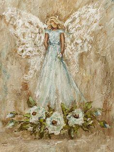 C McCroan Art – Golden Source by mkupillas Christmas Paintings, Christmas Art, Angel Artwork, Angel Paintings, Angel Wings Painting, Angel Drawing, Art Inspiration Drawing, Angel Pictures, Painting & Drawing