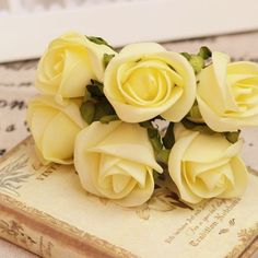 Yellow Rose of Texas(Butter Yellow Flowers) Yellow Aesthetic Pastel, Aesthetic Colors, Pastel Colours, Yellow Cottage, Rose Cottage, Baby Yellow, Mellow Yellow, Image Pastel, Book Flowers