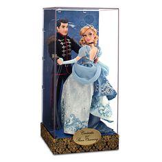 Cinderella and Prince Charming Doll Set - Disney Fairytale Designer Collection