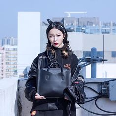 Your favourite vampire has found her favourite @rabeanco hand bag  . Photo credits to @mart_yeung  via BOLD SHOP HONG KONG OFFICIAL INSTAGRAM - Celebrity  Fashion  Haute Couture  Advertising  Culture  Beauty  Editorial Photography  Magazine Covers  Supermodels  Runway Models