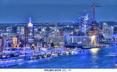 Hamburg, Hafen, Blue Port 2014 .