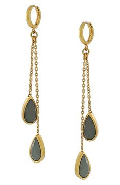 Vince Camuto Jeweled Drop Earrings available at #Nordstrom