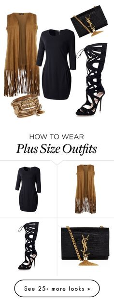 """Untitled #2"" by jragard on Polyvore featuring Topshop, ALDO and Yves Saint Laurent"