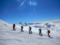 Ski Equipment, Ski Touring, Summer Winter, Winter Activities, Switzerland, Places To Travel, Mount Everest, Skiing, Centre
