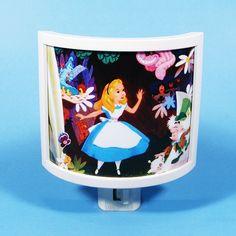 Alice in Wonderland Night Light cute nursery bathroom hallway bedroom TAKE IT wi. Alice in Wonderl Alice In Wonderland Bedroom, Alice In Wonderland Party, Chandelier Art, Baby Night Light, Cloud Lights, Girl Nursery, Nursery Ideas, Room Ideas, Light Crafts