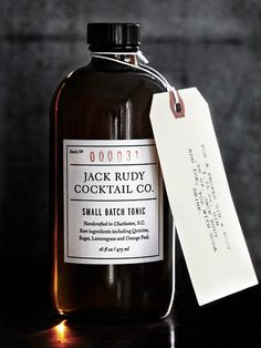 Jack Rudy Cocktail Company - Small Batch Tonic