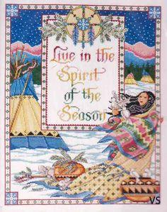 Design Works 9674  Spirit of the Season  Designer: Joan Elliott