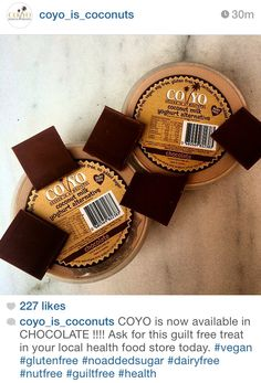 Give me!! #chocolate #coyo #delicious #coconut #thisisalanna