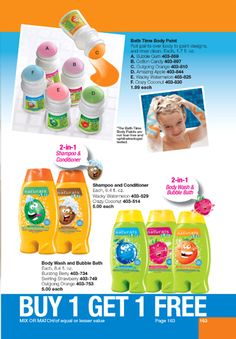 1c7d5836e Avon Kids Naturals bath supplies. Roll on bath soap...these are liquid