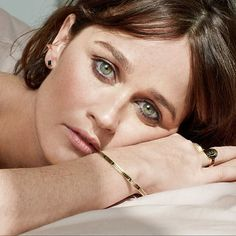 Beautiful photographed by Dream bangle and Cigar Band ring available at main floor till December Robin Tunney, Cigar Band, The Mentalist, Barneys New York, Band Rings, Movie Stars, Fangirl, Bangles, Portrait