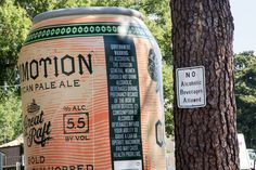 Giant Beer Can. PromotionalDesignGroup.com