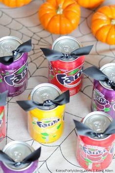 Soda can DIY Hallowe