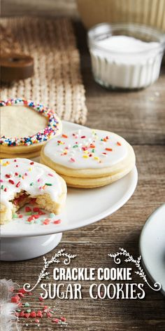 Filled with colorful crackle candy, anyone who takes a bite of these sugar cookies is in for a sweet surprise! Perfect for kids, coworkers, or a quick weeknight batch, these treats are simple to make and sure to delight. Line your pan with Reynolds Parchment Paper, available in rolls or pre-cut sheets, for cookies that don't stick and fast, easy cleanup.