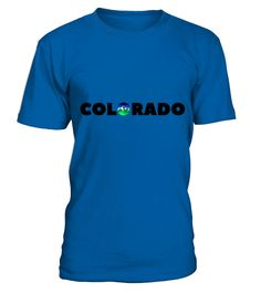 colorado souvenir logo  #gift #idea #shirt #image #funny #paris #love #peace #family #beautifulshirt